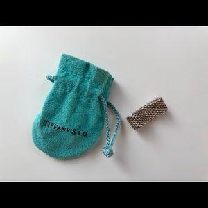 Tiffany & Co // Somerset Mesh Chain Ring